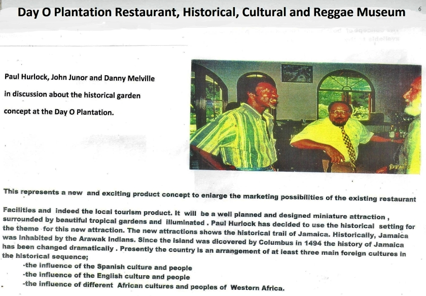 Day O Plantation Restaurant, historical cultural reggae museum